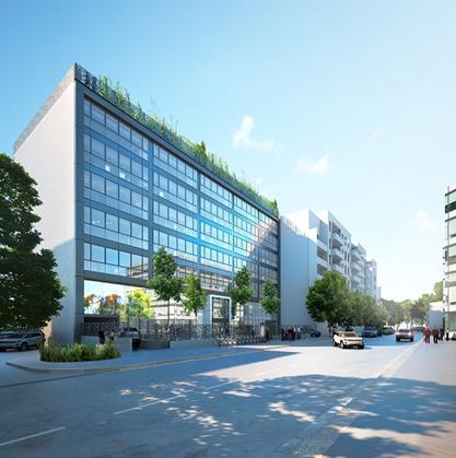 MONTREUIL (93) - Immeuble de bureaux Le Wi