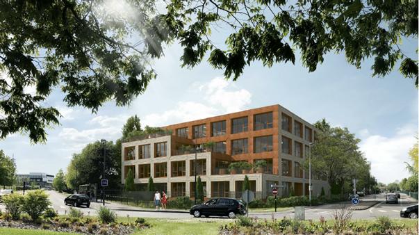 VILLENEUVE D'ASCQ (59) - Immeuble
