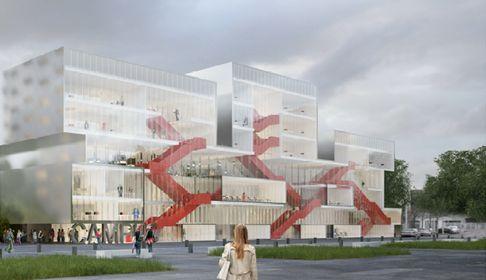 NANTERRE (92) - Campus numérique - Ilot Anatole France - ZAC SEINE ARCHE