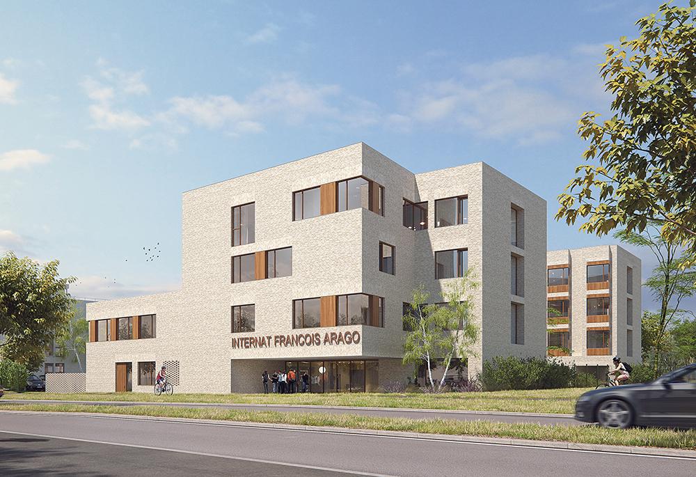 VILLENEUVE-SAINT-GEORGES (94) - Construction d'un internat - Lycée François Arago