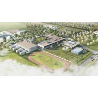 CREVECOEUR LE GRAND (60) - Nouveau collège