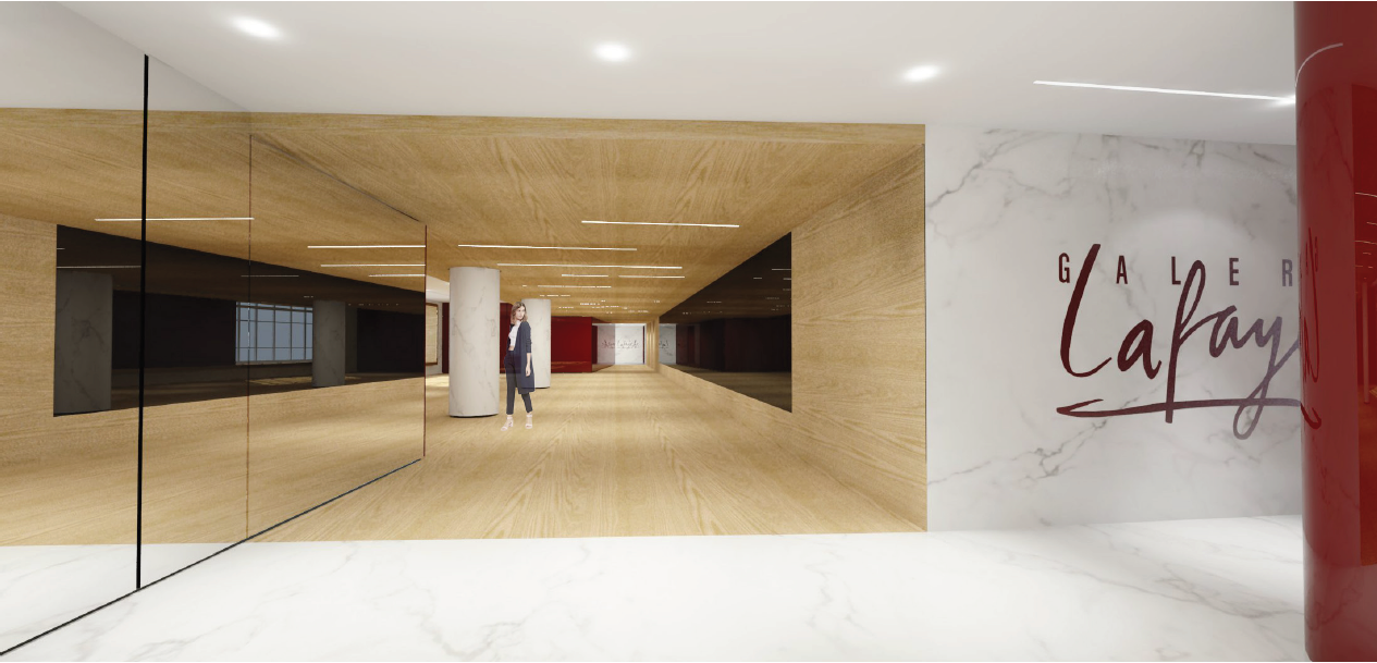PARIS 9ème - Galeries Lafayette - Salon Opéra