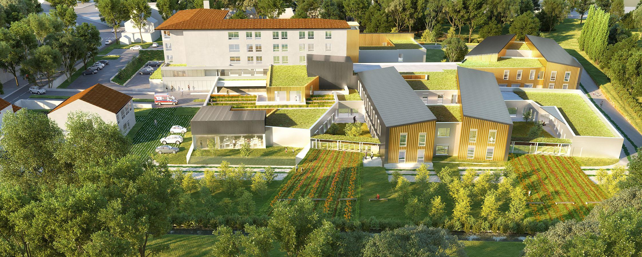 HESDIN (62) - Construction d'un bâtiment d'hébergement