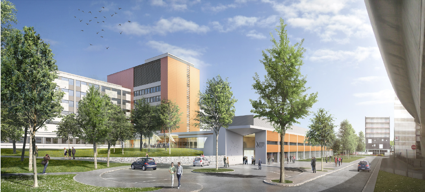 LILLE (59) - Hôpital Saint Philibert - Quartier de LOMME
