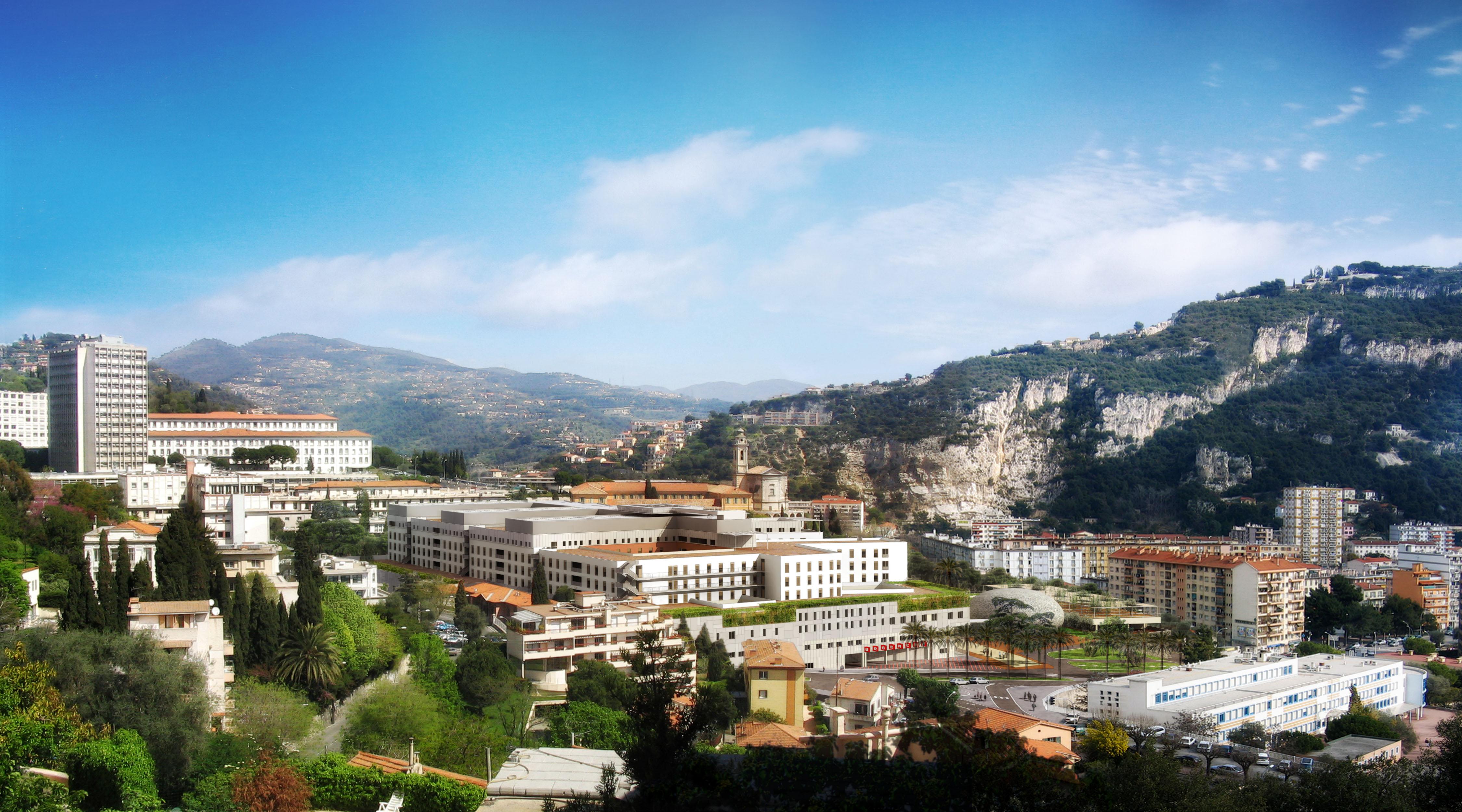 NICE (06) - Hôpital Universitaire Pasteur 2