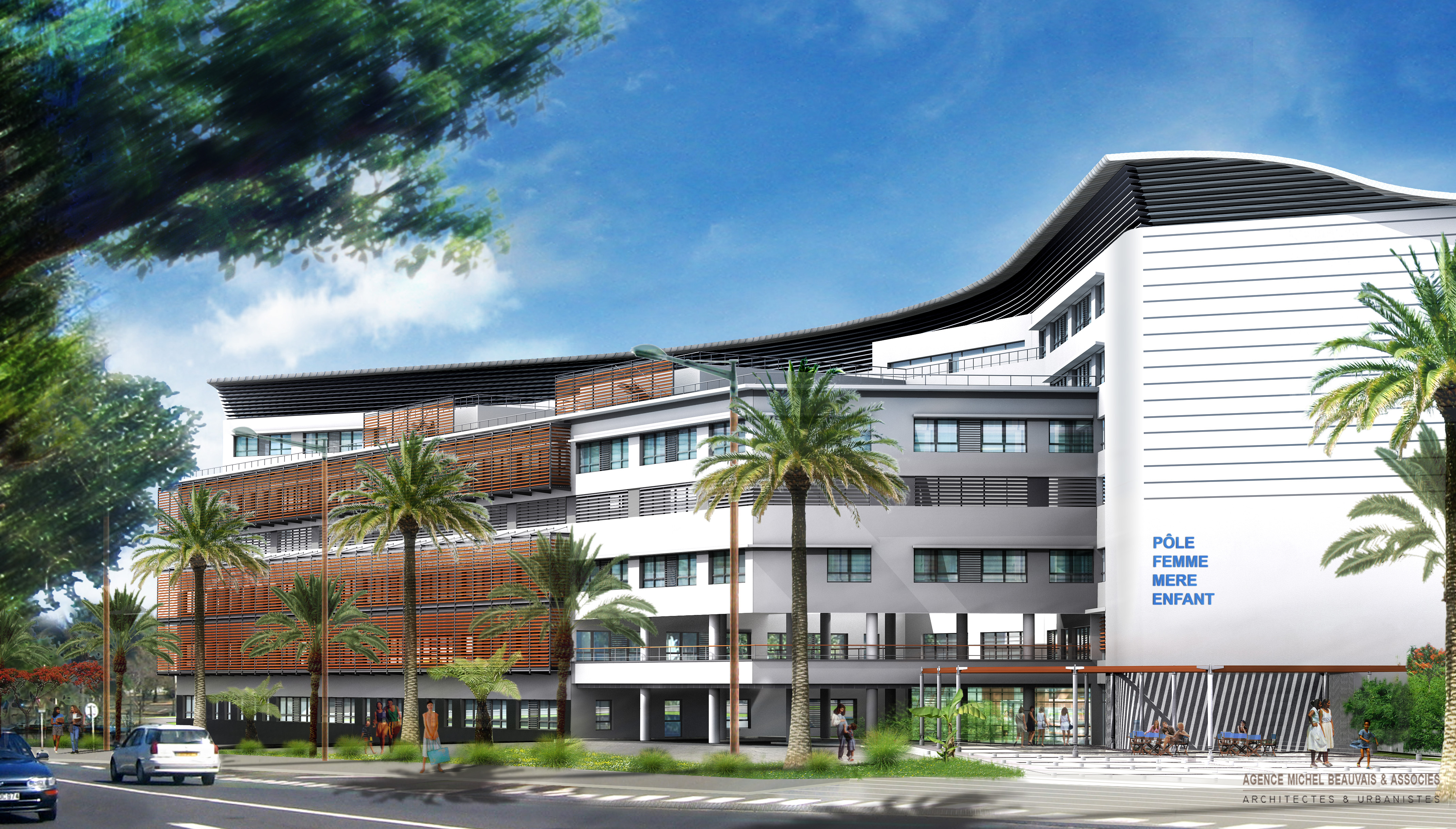 ISAUTIER - SAINT PIERRE DE LA REUNION (97) - Hôpital Sud Réunion