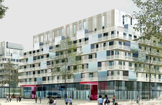 BOULOGNE BILLANCOURT (92) - ZAC Rives de Seine - Macro-lot D3A