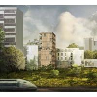 PARIS La Chapelle (75018) - EFIDIS & RIVP - Construction de deux résidences