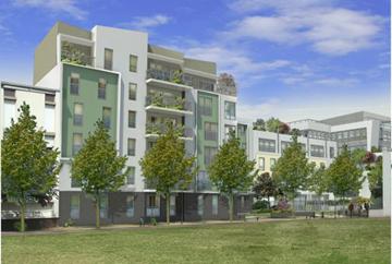 MONTREUIL (93) - Immeuble de bureaux et logements